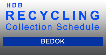 Recycling Schedule - PRB Sector - Bedok HDB in PDF